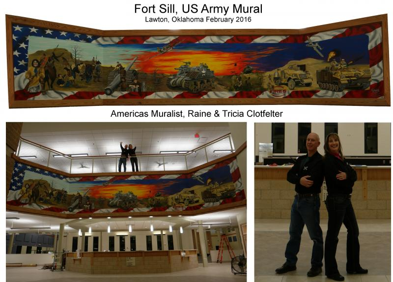 Fort Sill Mural